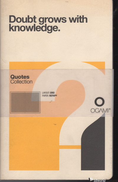 NOTEBOOK OGAMI QUOTES SMALL - QUADRETTO 5 MM. - AAVV