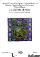 CULTURA EBRAICA (LA) - SABBADINI REINACH P. (CUR.)