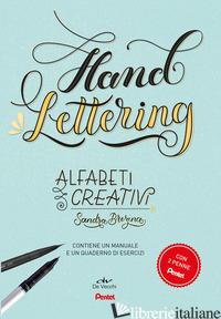 HAND LETTERING. ALFABETI CREATIVI. CON GADGET - BREZINA SANDRA