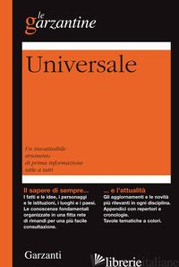 ENCICLOPEDIA UNIVERSALE - AA.VV.