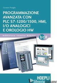 PROGRAMMAZIONE AVANZATA CON PLC S7-1200/1500, HMI, I/O ANALOGICI E OROLOGIO HW - PIRRAGLIA GIOVANNI