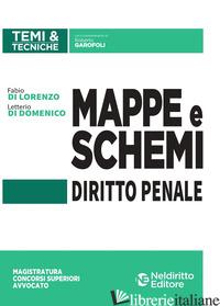 MAPPE E SCHEMI DI DIRITTO PENALE - GAROFOLI ROBERTO