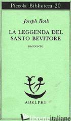 LEGGENDA DEL SANTO BEVITORE. RACCONTO (LA) - ROTH JOSEPH