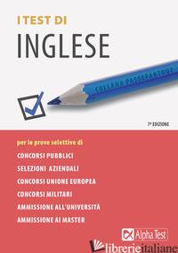 TEST DI INGLESE (I) - DESIDERIO FRANCESCA