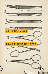 DOVE E' SEMPRE NOTTE - BANVILLE JOHN