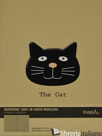 GATTO (QUADERNO 17X24 RECYCLED) -