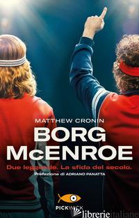 BORG MCENROE - CRONIN MATTHEW