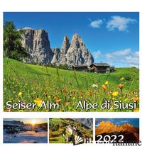 SEISER ALM SCHLERN-ALPE DI SIUSI SCILIAR 2022. POSTKARTENKALENDER QF/CALENDARIO  - MALFERTHEINER PETER