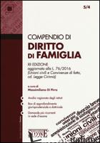 COMPENDIO DI DIRITTO DI FAMIGLIA - DI PIRRO M. (CUR.)