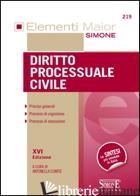 DIRITTO PROCESSUALE CIVILE - COMITE A. (CUR.)