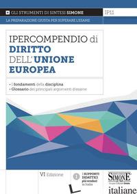 IPERCOMPENDIO DIRITTO DELL'UNIONE EUROPEA - IP11