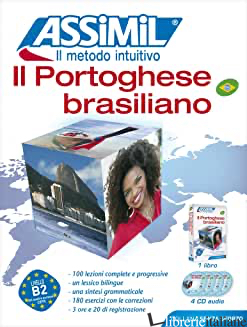 PORTOGHESE BRASILIANO. CON 4 CD AUDIO (IL) - GRAZINI DOS SANTOS JULIANA; HALLBERG MONICA; MAZEAS MARIE-PIERRE