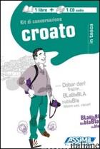 CROATO. KIT DI CONVERSAZIONE. CON CD AUDIO - JOVANOVIC DRAGOSLAV