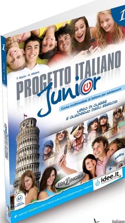 PROGETTO ITALIANO JUNIOR. LIBRO DELLO STUDENTE. CON CD AUDIO. VOL. 1 - MARIN - ALBANO