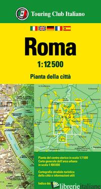 ROMA 1:12.500. EDIZ. MULTILINGUE -