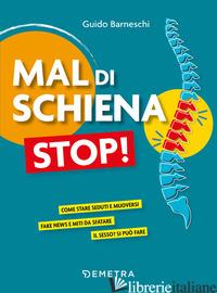 MAL DI SCHIENA STOP! - BARNESCHI GUIDO