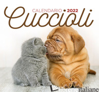 CUCCIOLI. CALENDARIO 2022 DA TAVOLO (17 X 16) - AA.VV.
