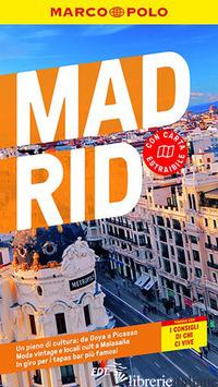 MADRID. CON CARTA GEOGRAFICA RIPIEGATA - DAHMS MARTIN; THIEL SUSANNE
