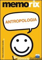ANTROPOLOGIA - SANTORO LIVIO