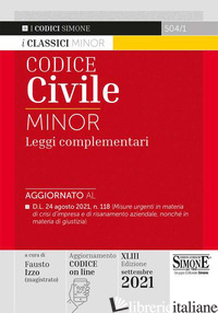 CODICE CIVILE MINOR. XLIII EDIZ. 2021 - 504/1