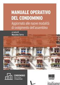 MANUALE OPERATIVO DEL CONDOMINIO - SERRA M. (CUR.)