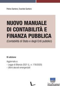 MANUALE DI CONTABILITA' E FINANZA PUBBLICA - SANTORO PELINO; SANTORO EVARISTO
