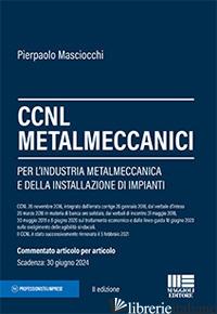 CCNL METALMECCANICI - MASCIOCCHI PIERPAOLO