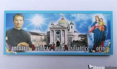 DON BOSCO/MARIA AUSILIATRICE/SANTUARIO MAGNETE LEGNO CM 4,5X11 -