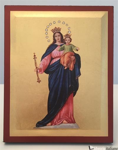MARIA AUSILIATRICE ICONA CM.20X16 -