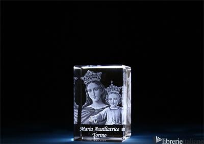 MARIA AUSILIATRICE CRISTALLO MM.40X60X40 -