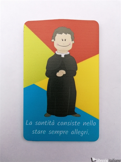DON BOSCO CARD LED CM 5,5X8,5 -