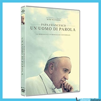 PAPA FRANCESCO UN UOMO DI PAROLA. DVD - WENDERS WIM