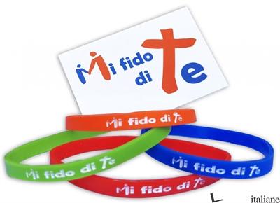 MI FIDO DI TE (BRACCIALETTO UNICOLOR) - ...