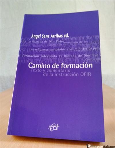 CAMINO DE FORMACION-ORIENTACIONES SOBRE LA FORMACION EN LOS INSTITUTOS RELIGIOSO - ARRIBAS ANGEL SANZ