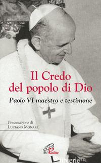 CREDO DEL POPOLO DI DIO (IL) - PAOLO VI