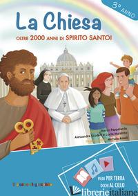 CHIESA. OLTRE 2000 ANNI DI SPIRITO SANTO! 3° ANNO (LA) - PAPPALARDO MARCO; MURABITO LUCIA; SCUDERI ALESSANDRA