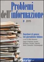 PROBLEMI DELL'INFORMAZIONE (2015). VOL. 3 -