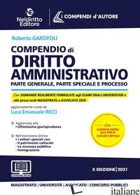 COMPENDIO DI DIRITTO AMMINISTRATIVO - RICCI LUCA EMANUELE