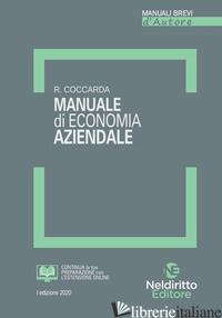 MANUALE DI ECONOMIA AZIENDALE - COCCARDA RAOUL
