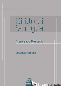 DIRITTO DI FAMIGLIA - RUSCELLO FRANCESCO