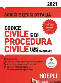 CODICE CIVILE E DI PROCEDURA CIVILE E LEGGI COMPLEMENTARI - FRANCHI LUIGI; FEROCI VIRGILIO; FERRARI SANTO