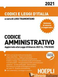 CODICE AMMINISTRATIVO - TRAMONTANA L. (CUR.)