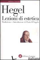 LEZIONI DI ESTETICA. CORSO DEL 1823 - HEGEL FRIEDRICH