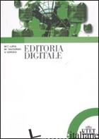 EDITORIA DIGITALE - LUPIA M. TERESA; TAVOSANIS MIRKO; GERVASI VINCENZO