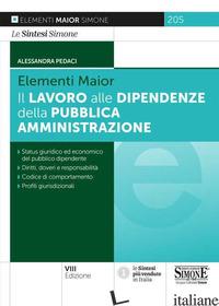 LAVORO ALLE DIPENDENZE DELLA PUBBLICA AMMINISTRAZIONE 2021 - 205