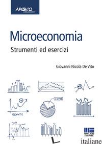 MICROECONOMIA - DE VITO GIOVANNI NICOLA