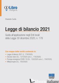LEGGE DI BILANCIO 2021 - CIVETTA ELISABETTA