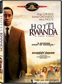 HOTEL RWANDA. DVD - GEORGE TERRY