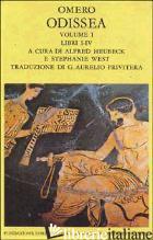 ODISSEA. VOL. 1: LIBRI I-IV - OMERO; HEUBECK A. (CUR.); WEST S. (CUR.)
