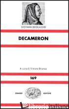 DECAMERON (IL) - BOCCACCIO GIOVANNI; BRANCA V. (CUR.)